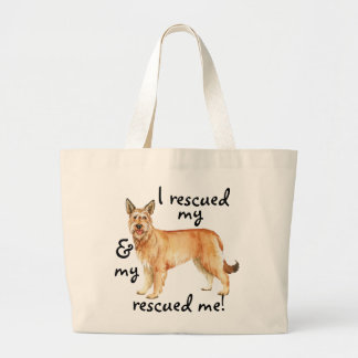 Rescue Berger Picard Large Tote Bag