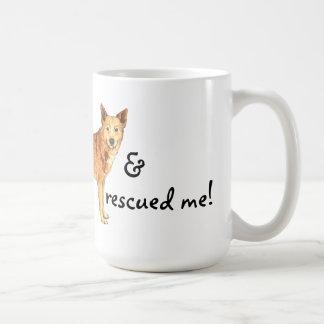 Rescue Canaan Dog Coffee Mug