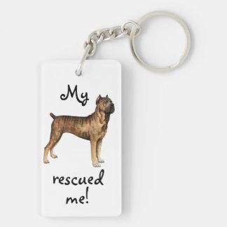 Rescue Cane Corso Key Ring