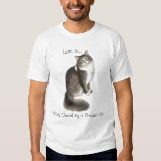 Rescue Cat Love Shirt