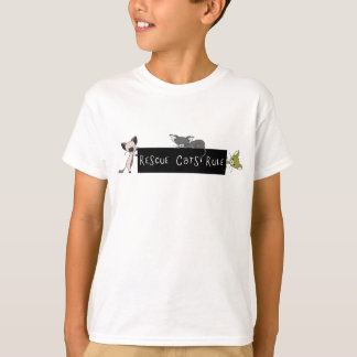 Rescue Cats Rule! Tees