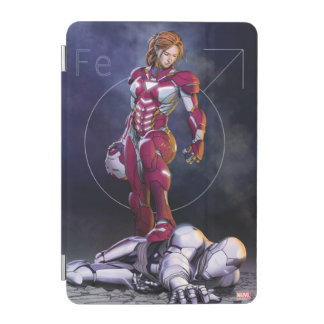 Rescue Defeating Superior Iron Man iPad Mini Cover