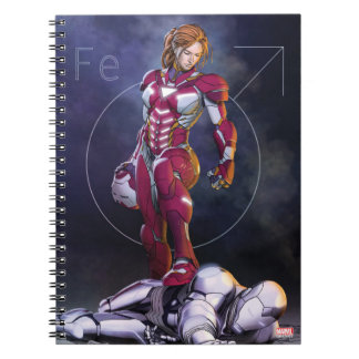 Rescue Defeating Superior Iron Man Notebooks