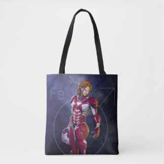 Rescue Defeating Superior Iron Man Tote Bag