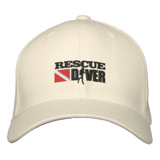 Rescue Diver (Embroidered Cap) Embroidered Hat