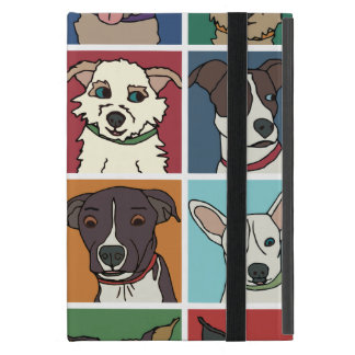 Rescue Dog Cartoon Case For iPad Mini