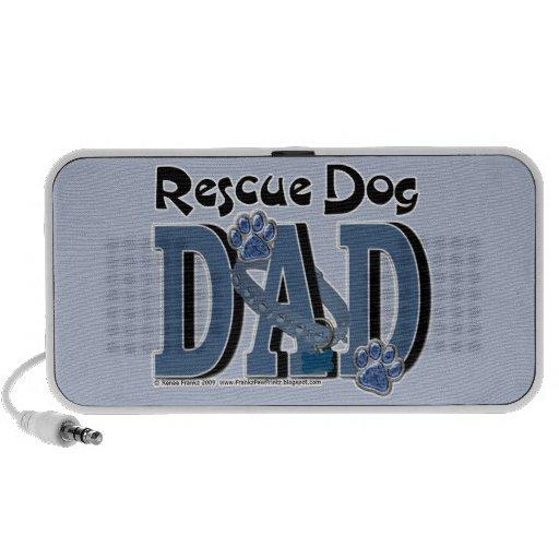 Rescue Dog DAD iPhone Speaker