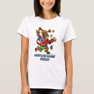 Rescue Dogs rock ! T-Shirt