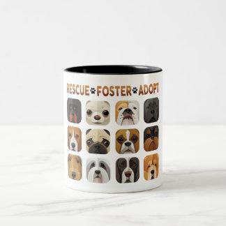 Rescue Foster Adopt Mug