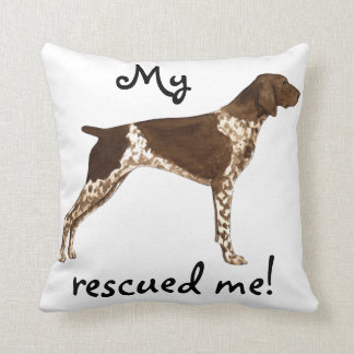 Rescue German Shorthaired Pointer Cushion