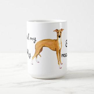Rescue Italian Greyhound Coffee Mug