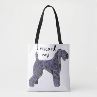 Rescue Kerry Blue Tote Bag