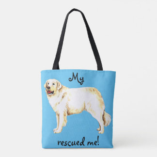 Rescue Kuvasz Tote Bag