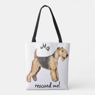 Rescue Lakeland Terrier Tote Bag