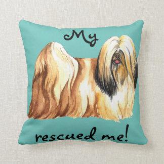 Rescue Lhasa Apso Cushion