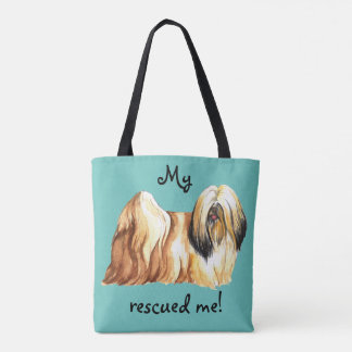 Rescue Lhasa Apso Tote Bag