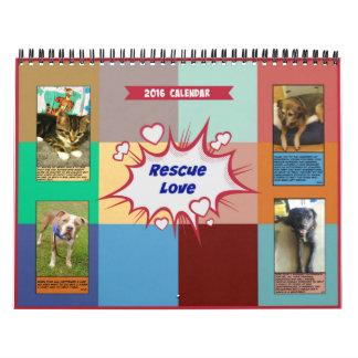 Rescue Love 2016 Calendar
