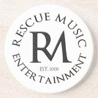 Rescue Music Entertainment Coaster