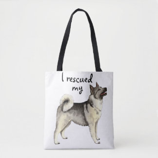 Rescue Norwegian Elkhound Tote Bag