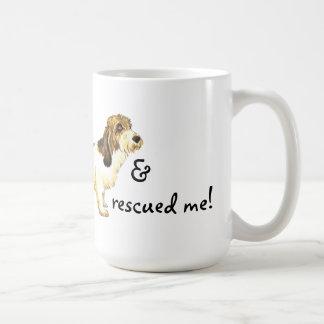 Rescue Petit Basset Griffon Vendéen Basic White Mug