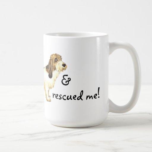 Rescue Petit Basset Griffon Vendéen Coffee Mugs