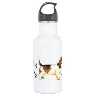 Rescue Petit Basset Griffon Vendéen 18oz Water Bottle