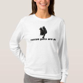 Rescue Pets Cat Tee Shirt