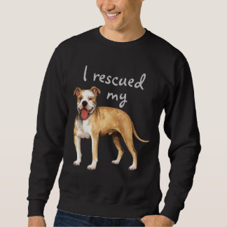 Rescue Pit Bull Terrier Pull Over Sweatshirt