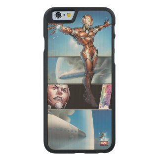 Rescue Saving Plane Carved Maple iPhone 6 Case