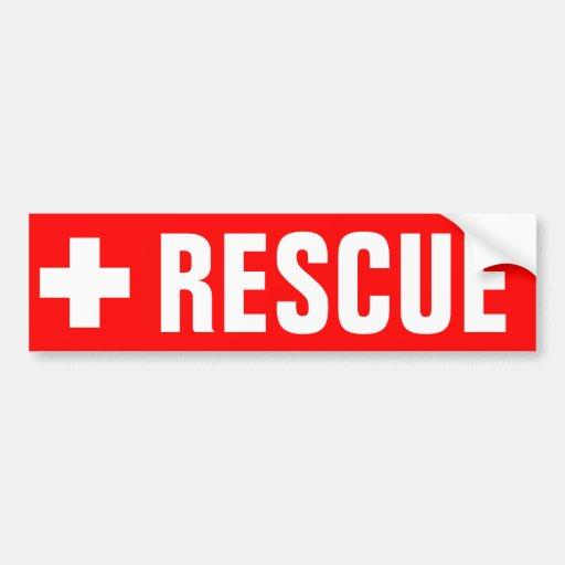 Rescue - Sticker Bumper Stickers
