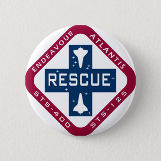 Rescue STS-400 6 Cm Round Badge
