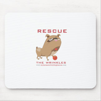 Rescue the Wrinkles! Mouse Pad