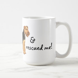Rescue Welsh Terrier Mug