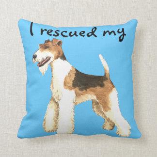 Rescue Wire Fox Terrier Cushions
