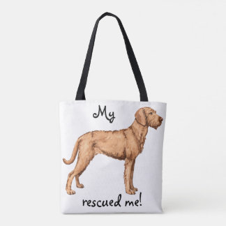 Rescue Wirehaired Vizsla Tote Bag