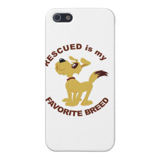 Rescued Dog Breed iPhone 5/5S Covers