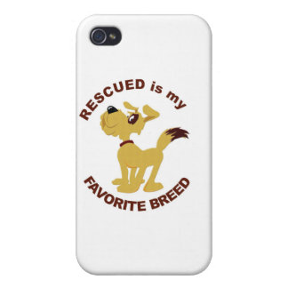 Rescued Dog Breed Covers For iPhone 4