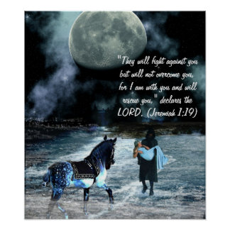 Rescued  Jeremiah1:19 Poster