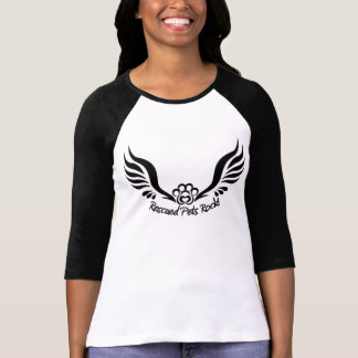 Rescued Pets Rock T-Shirt, FRAS logo T-Shirt