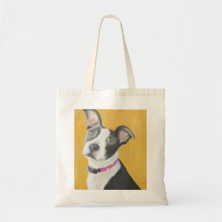 Rescued Pit Bull Tote Bags