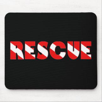 rescuediver copy mouse pad