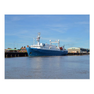 Research And Survey Vessel Sea Explorer Postcard