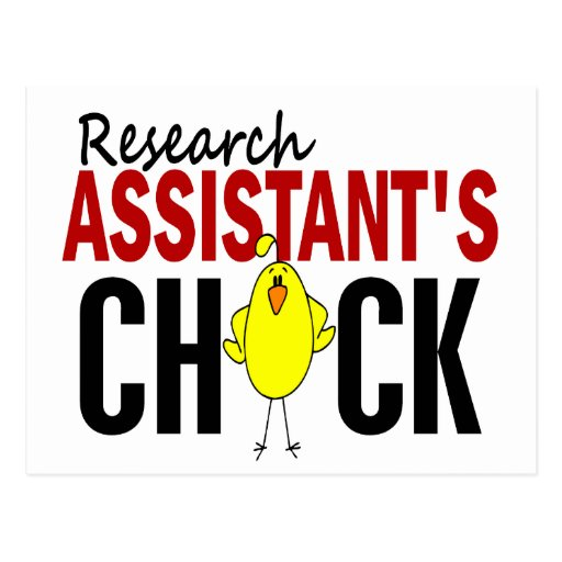 RESEARCH ASSISTANT'S CHICK POSTCARDS