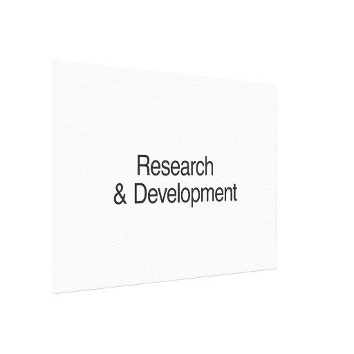 Research & Development Canvas Print