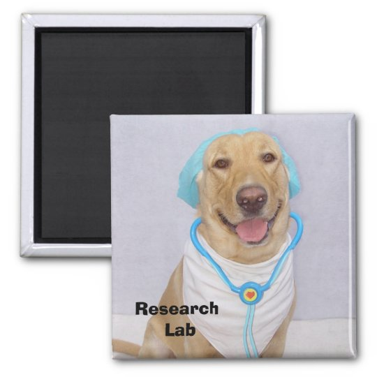 Research Lab Magnet