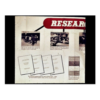 Research Post Cards