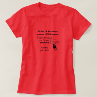 Research Rules 003 T-Shirt