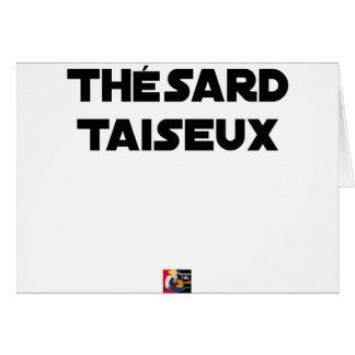 RESEARCH STUDENT TAISEUX - Word games - François Card