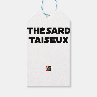 RESEARCH STUDENT TAISEUX - Word games - François Gift Tags