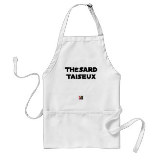 RESEARCH STUDENT TAISEUX - Word games - François Standard Apron